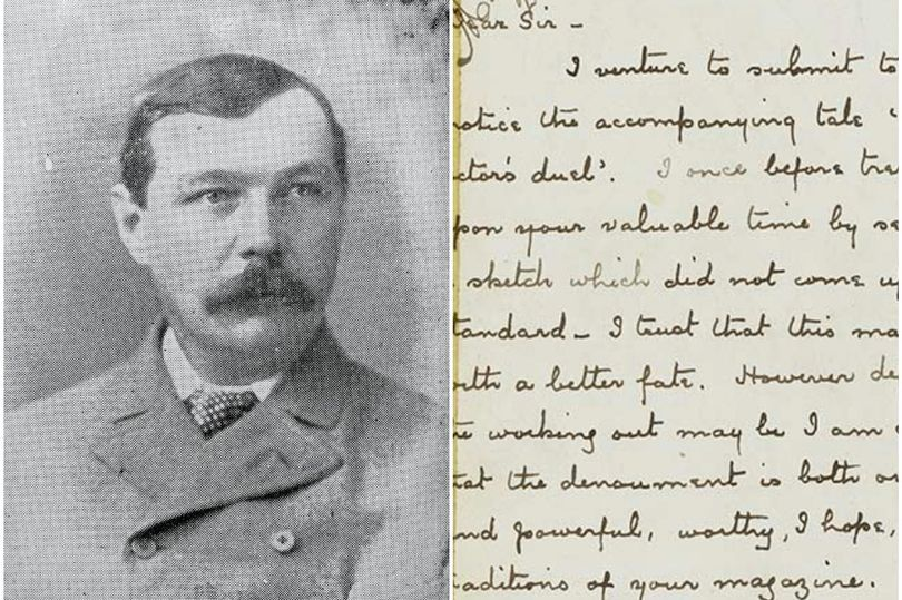 The fascinating letter by Sherlock author Sir Arthur Conan Doyle which remains in Edinburgh to this day